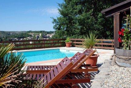 Domaine de Chanteperdrix, la piscine