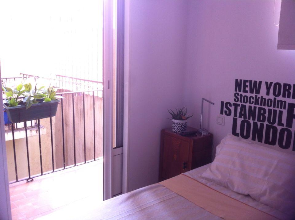 Petite terrasse dans la chambre