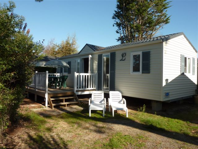 Camping l'Abri des Pins, bungalow 2