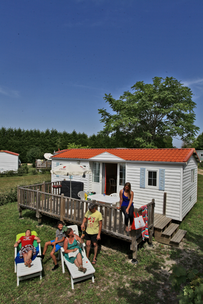 Mobil-home Castel Camping Le Petit Trianon