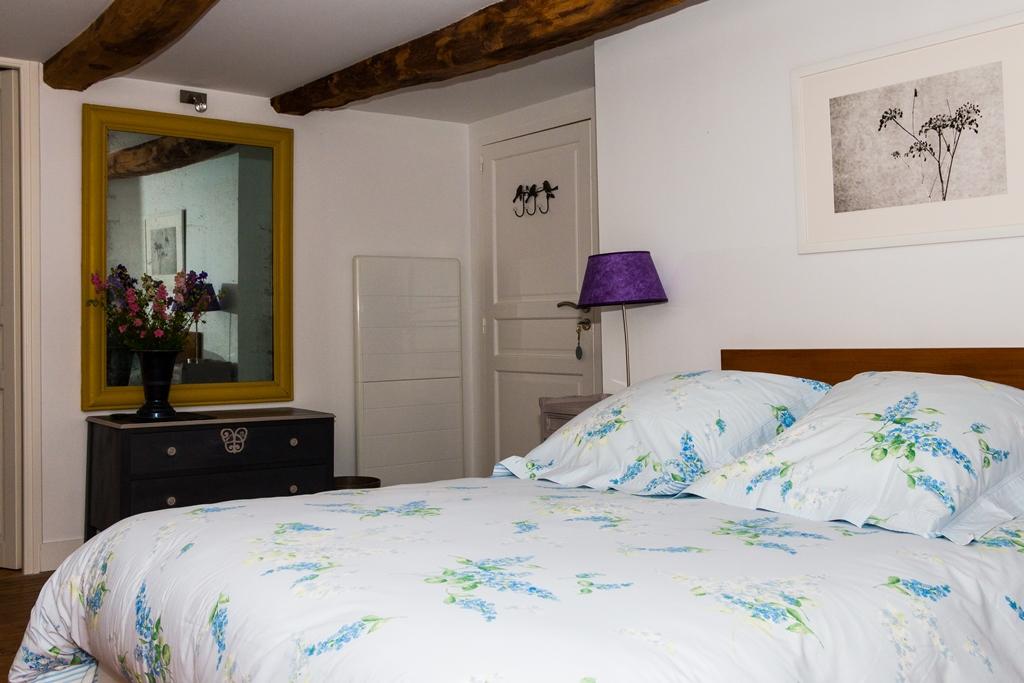 Chambre double Lilas, 1er étage