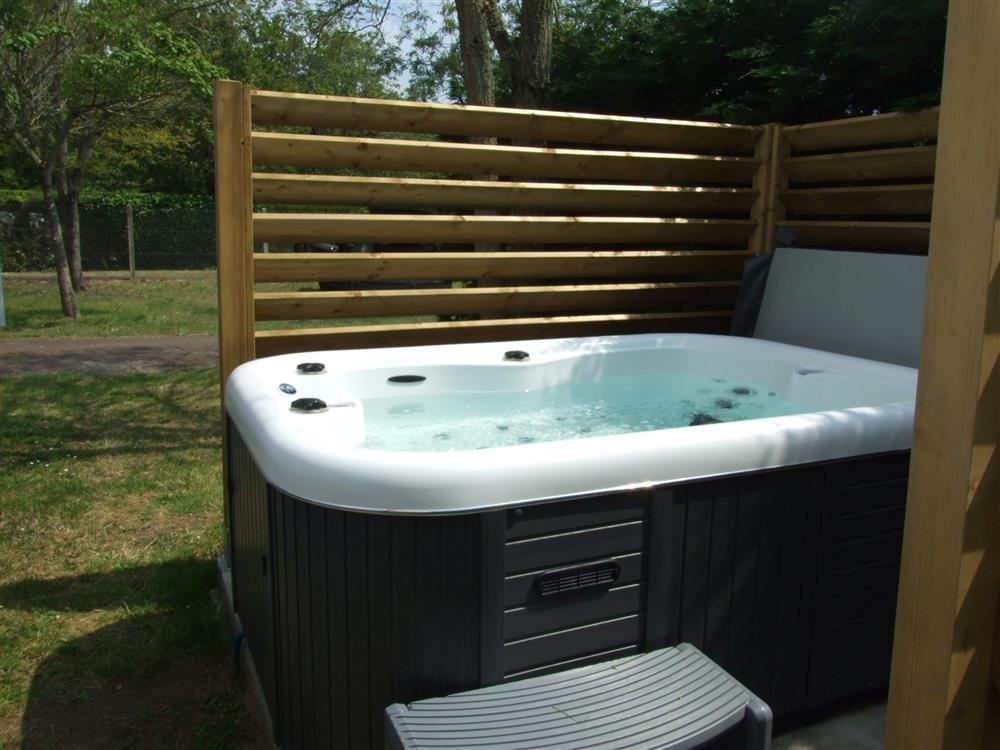 Espace bien-être avec bain à remous