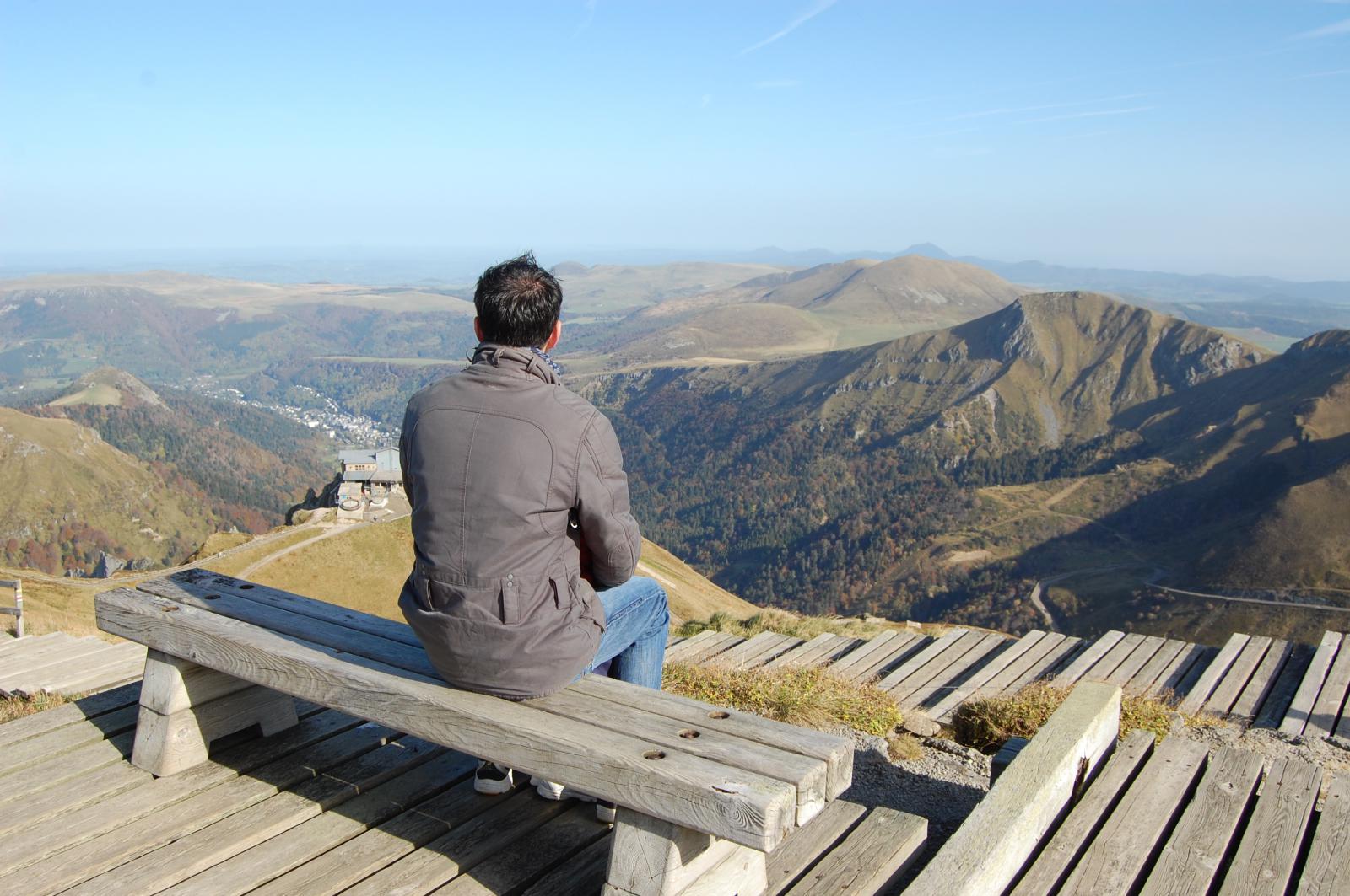 Panorama Sommet Puy de Sancy