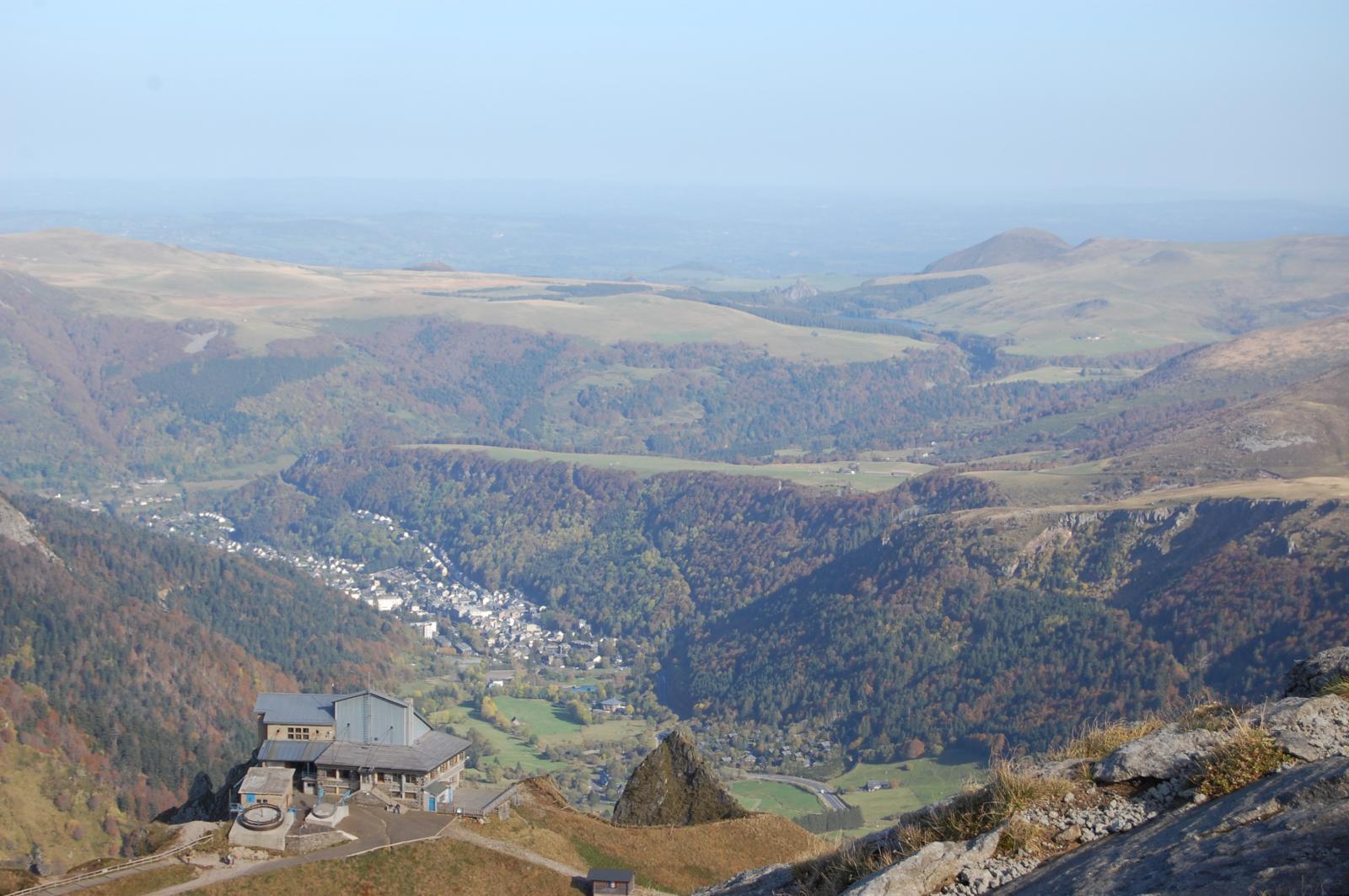 Puy de Sancy vue sur le Mont Dore