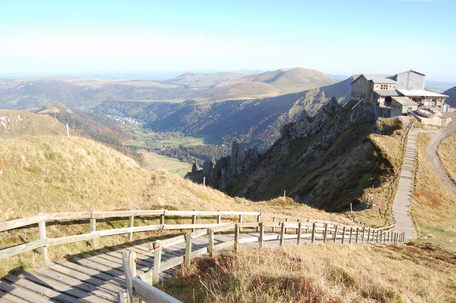 Montée au Sommet Puy de Sancy