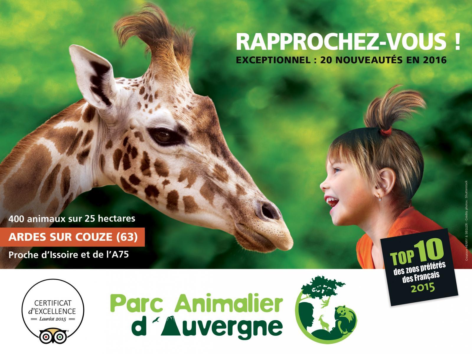 Pzrc animalier d'Auvergne