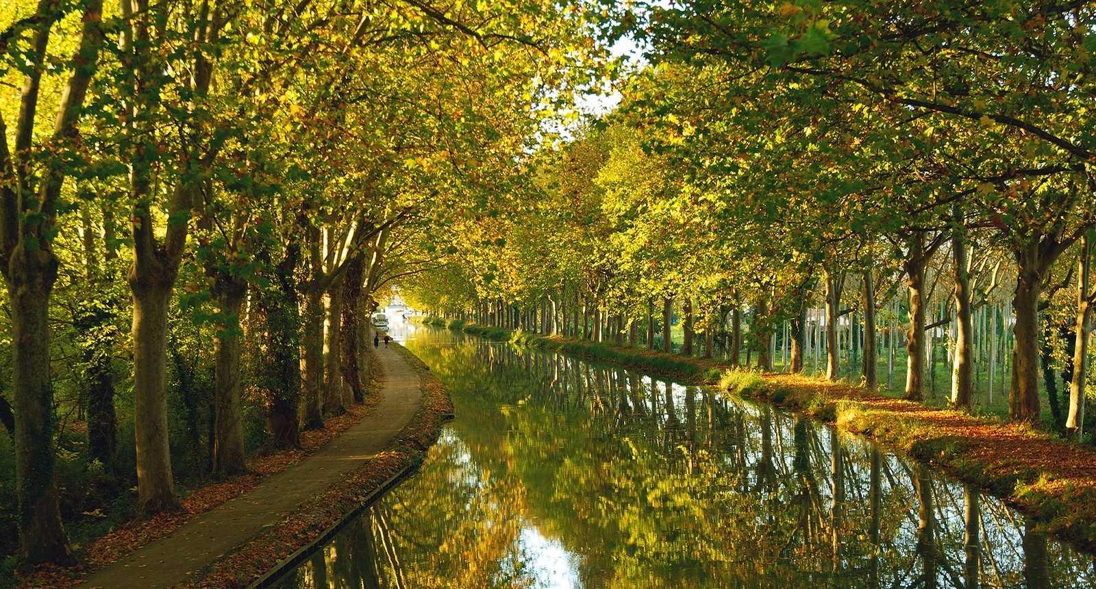 Le Canal Latéral à la Gironde, près de Fourques-sur-Garonne