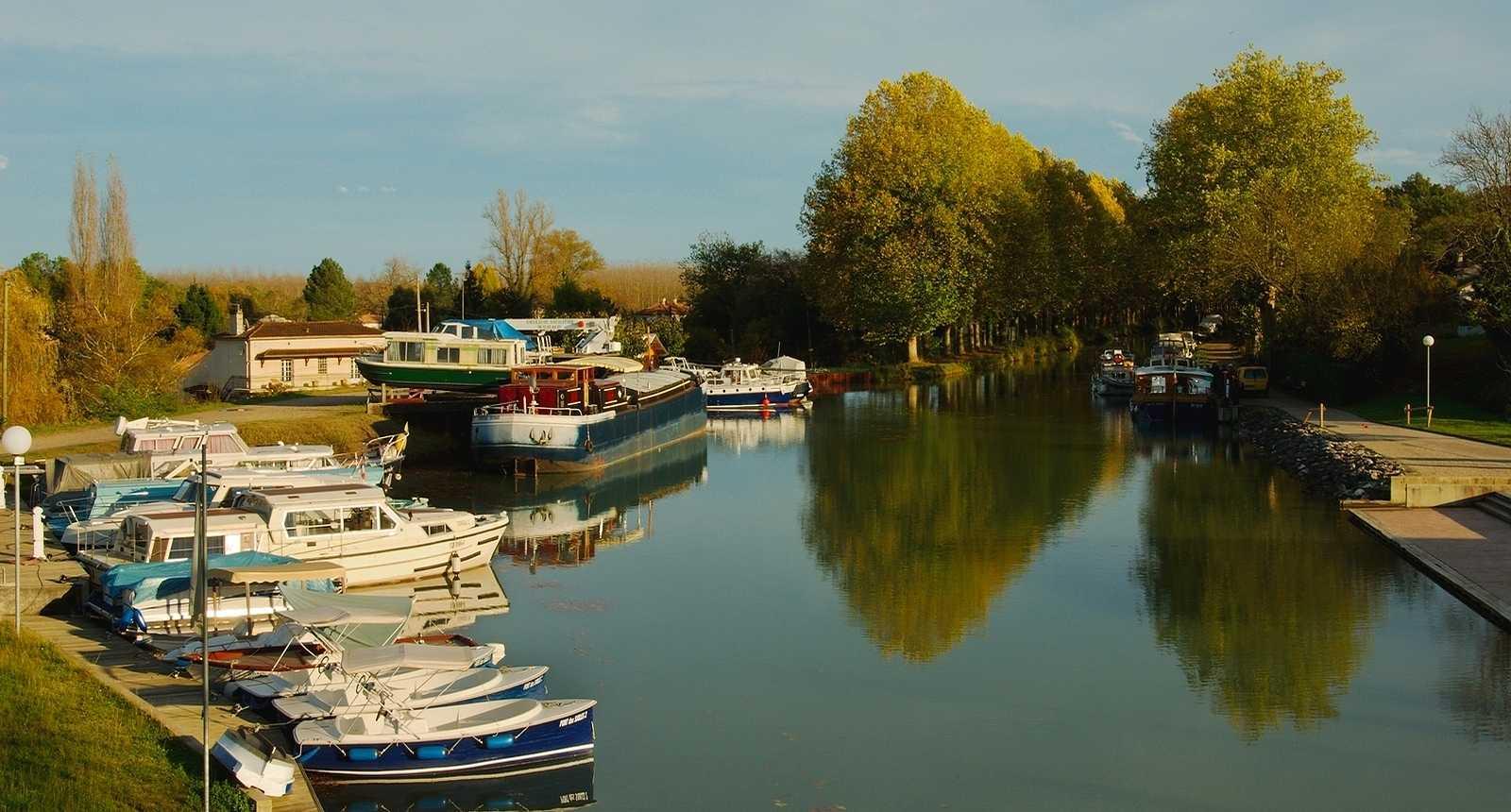 Le Canal Latéral à la Gironde, près de Fourques-sur-Garonne (1)