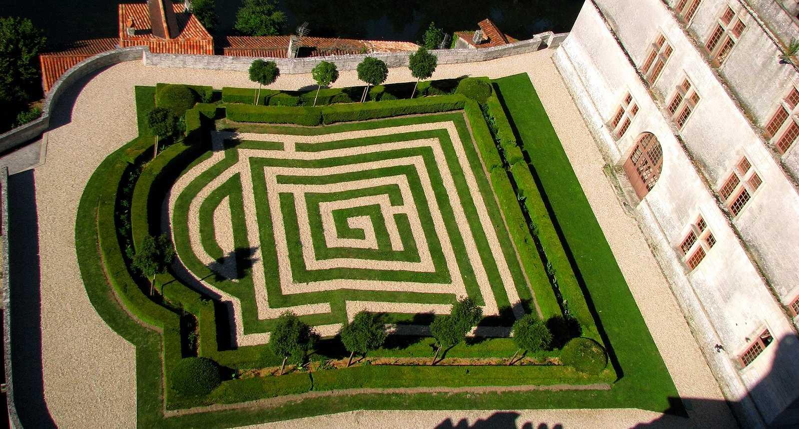 Jardin du Château de Hautefort