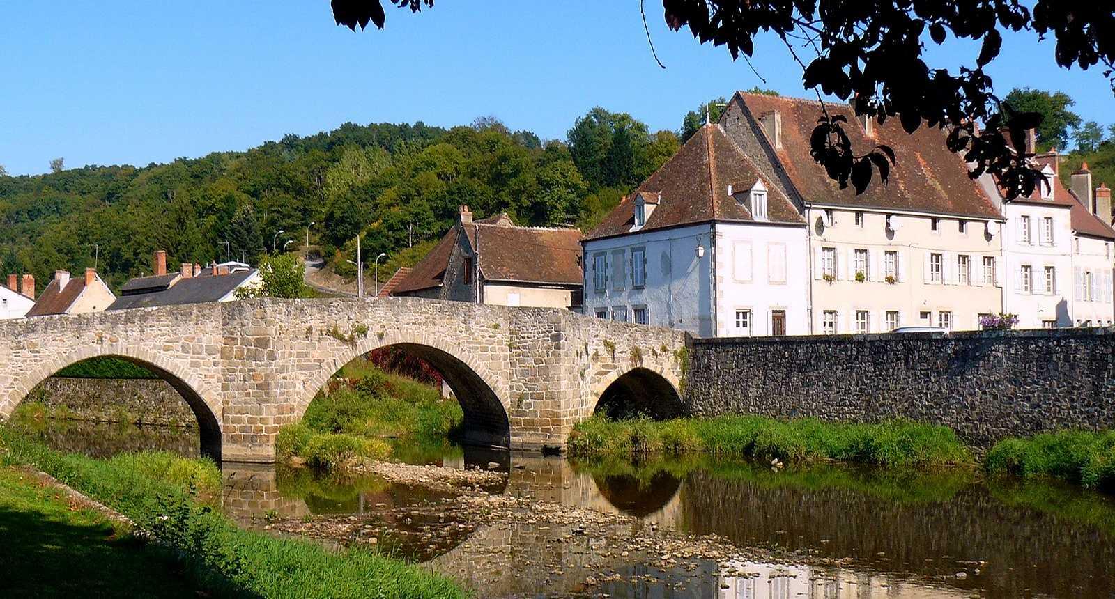 Le pont roman de Chambon-Sur-Voueize