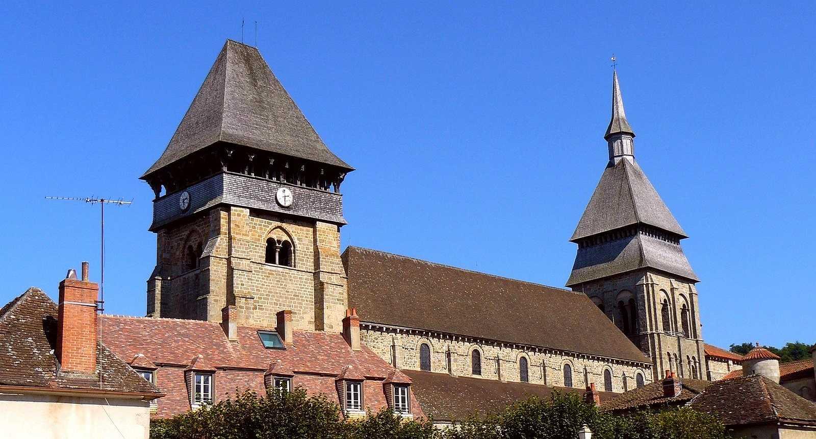 L'Abbatiale Sainte-Valérie à Chambon-Sur-Voueize