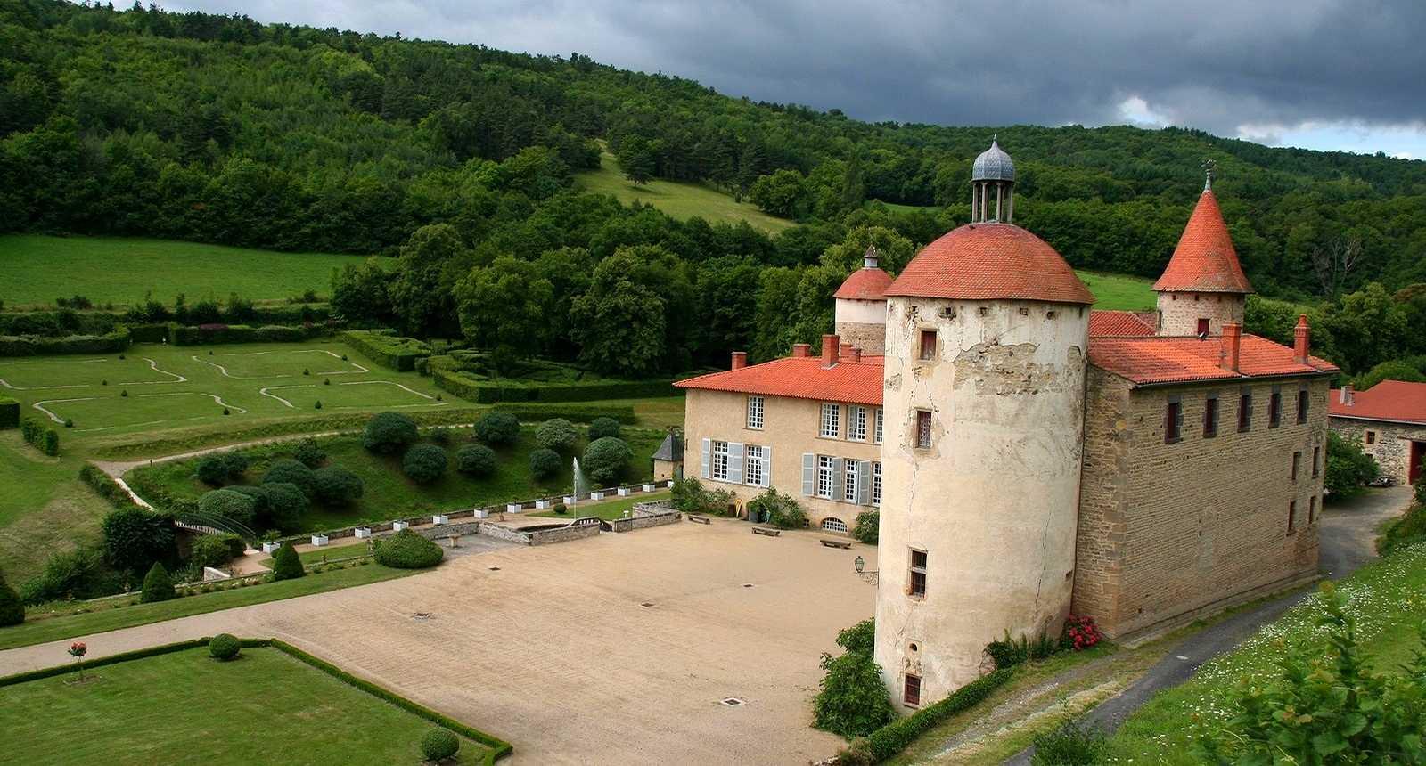 Château de La Batisse à Chanonat