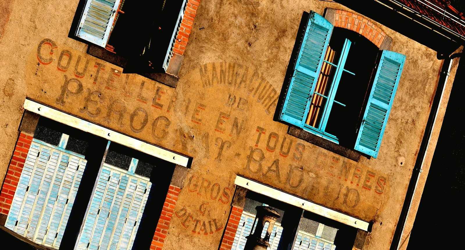 Ancienne usine à Thiers