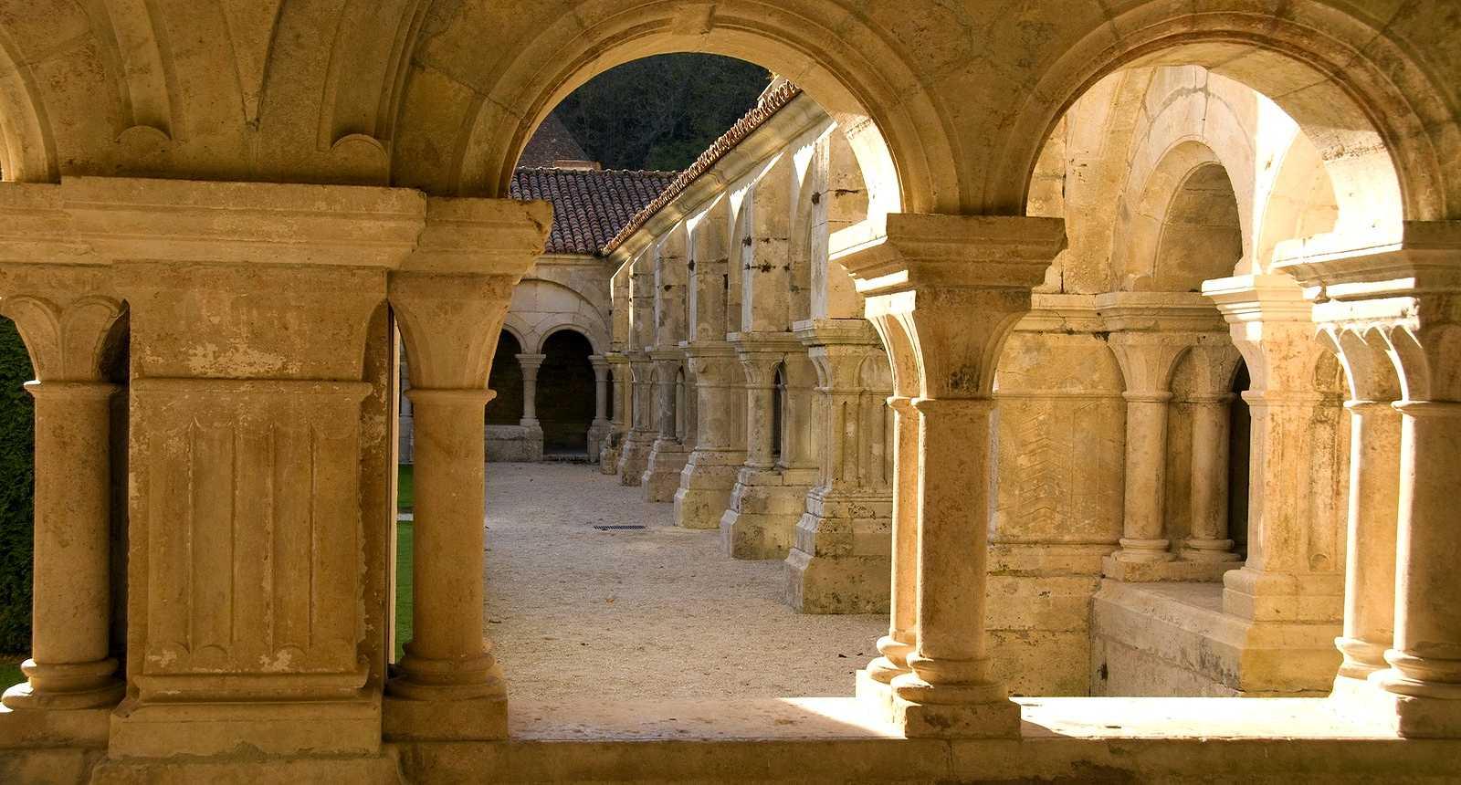L'Abbaye de Fontenay à Marmagne