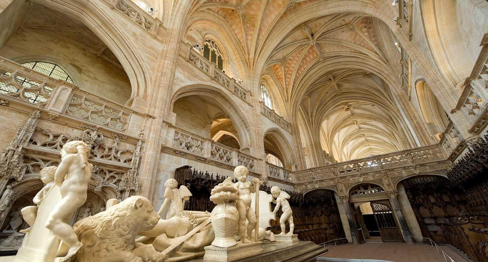 Tombeau de Philibert de Savoie au Monastère royal de Brou