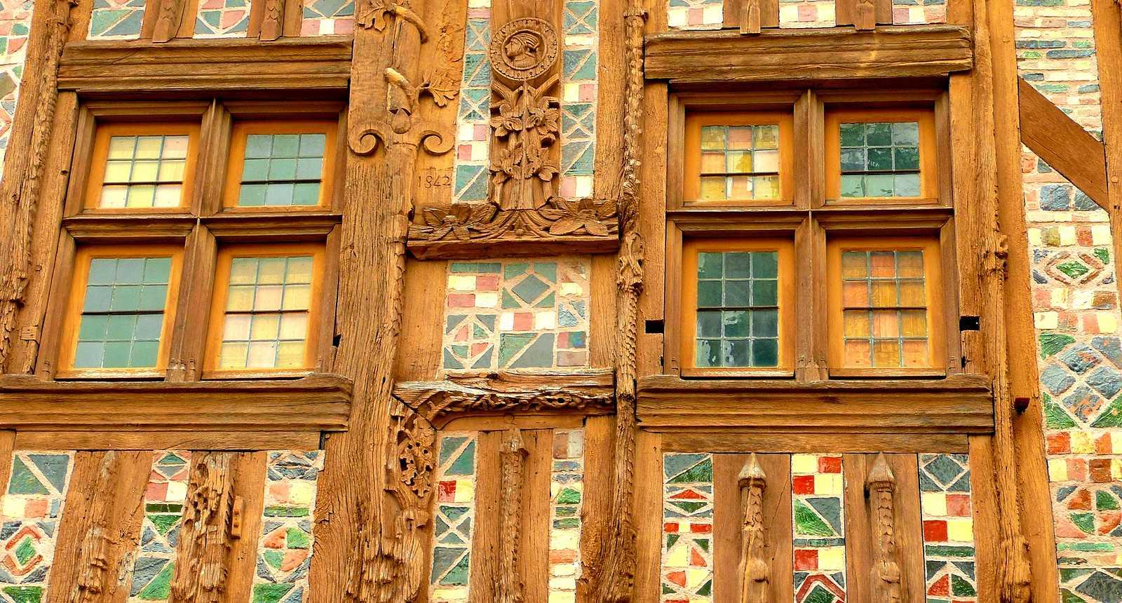 Maison à pan de bois de Joigny