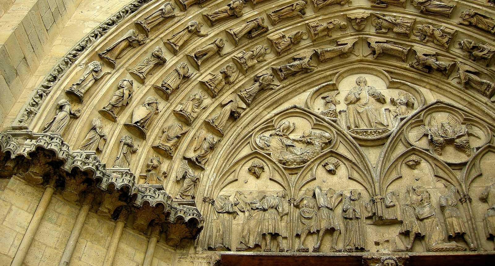 Porche de la Cathédrale Saint-Etienne de Sens