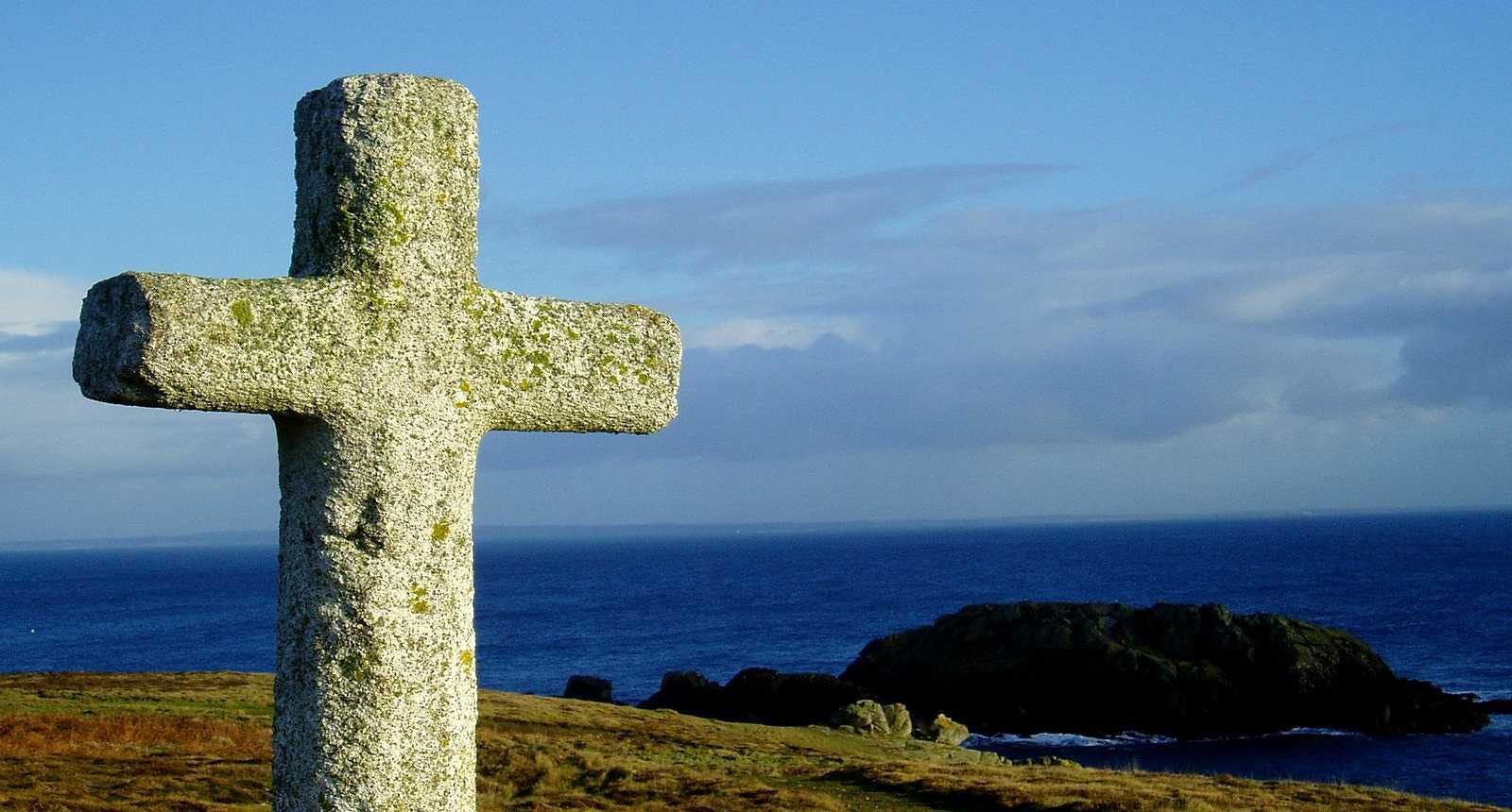 La Croix de Saint-Pol sur l'Île d'Ouessant