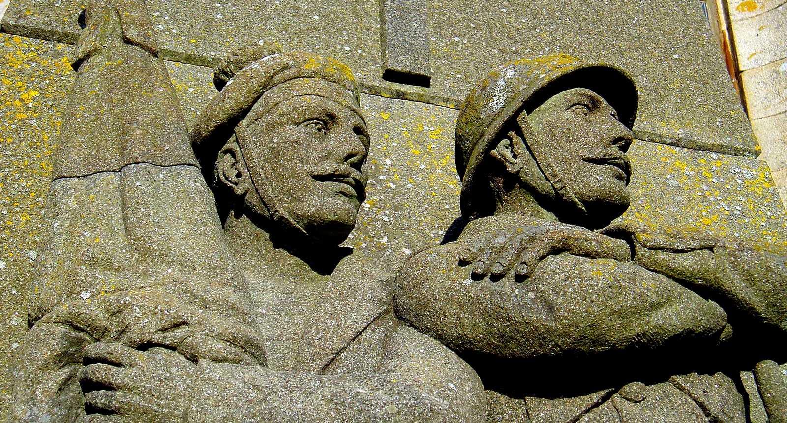 Le Monument aux Morts de l'Île d'Ouessant
