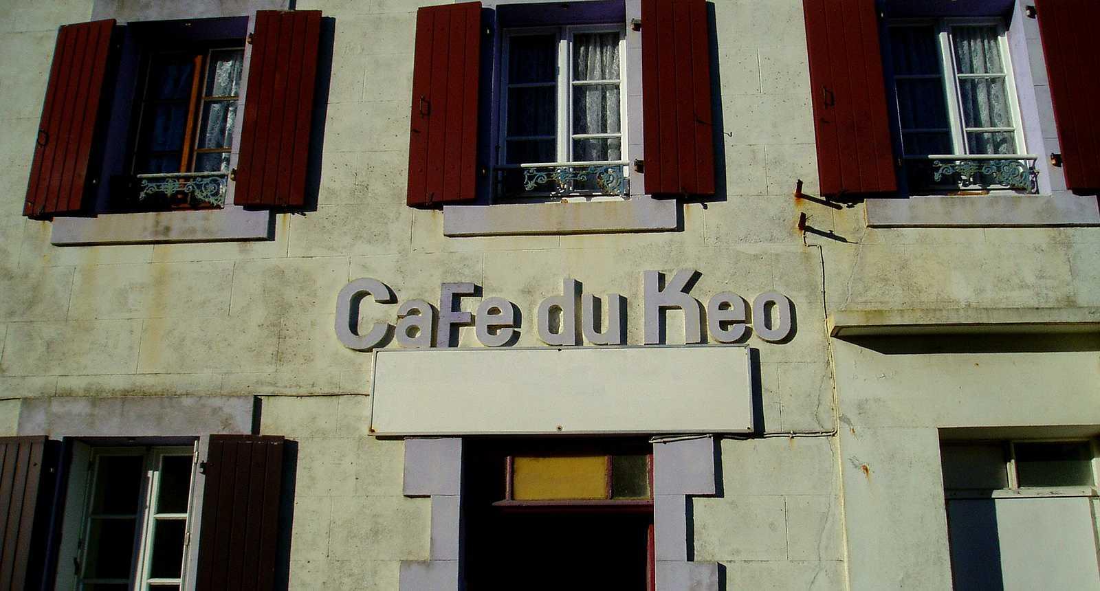 Le Café librairie Keo sur l'Île d'Ouessant