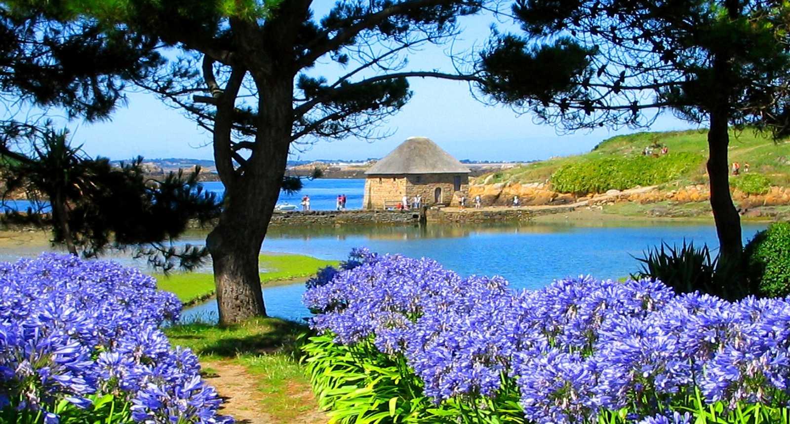 Le Moulin de Birlot sur l'Île de Bréhat