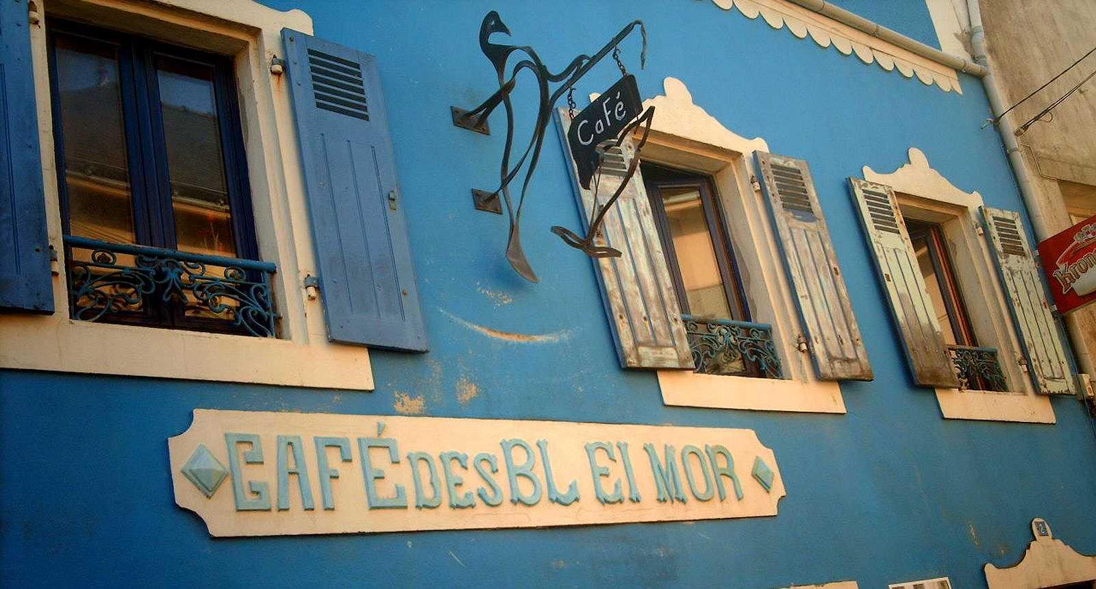 Le Café des Blei Mor au Bourg de l'Île de Groix