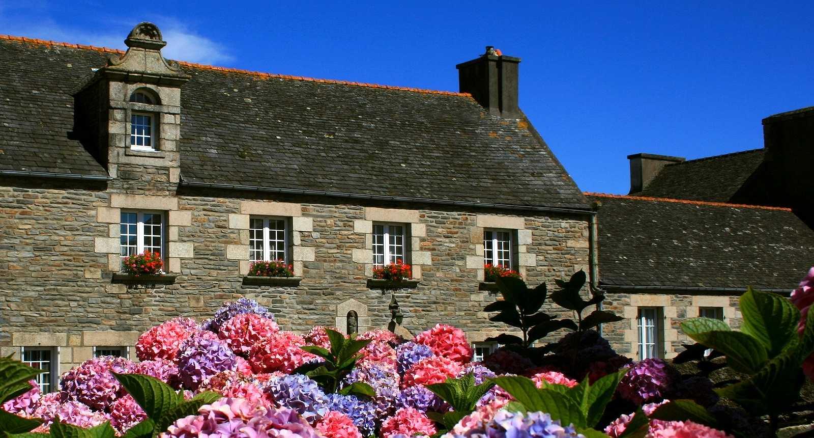 Maison bretonne à Saint-Thégonnec