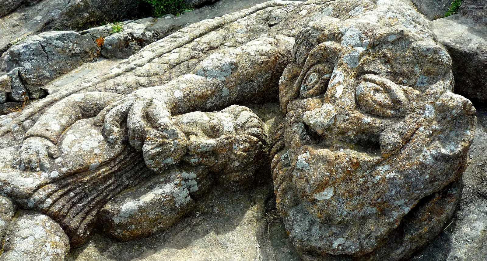 Rochers sculptés de Rothéneuf, près de Saint-Malo