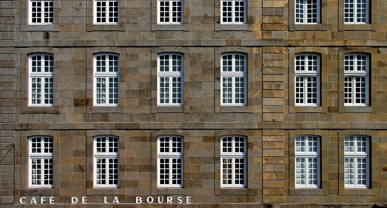 Rue Dinan à Saint-Malo