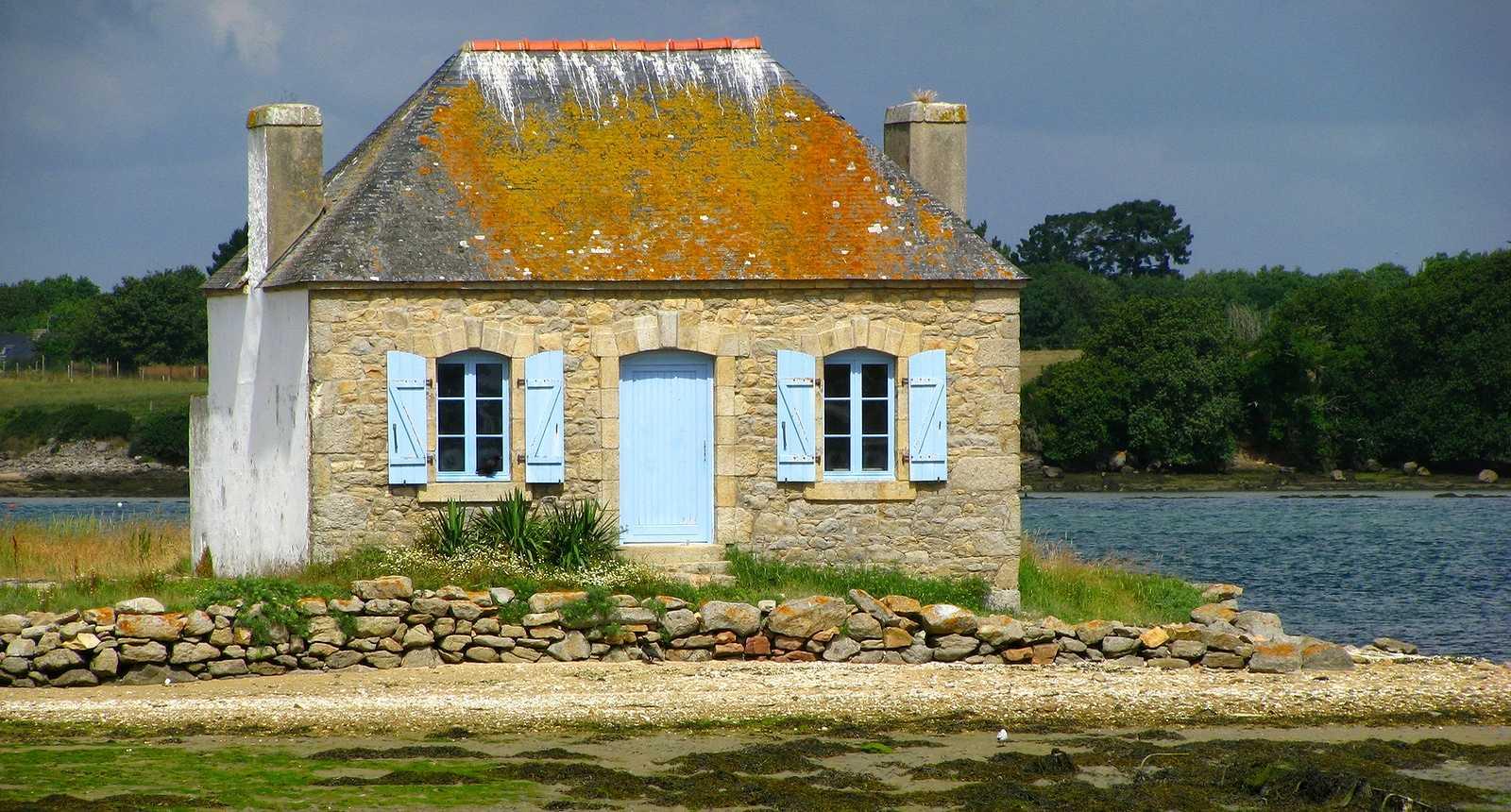 Maison de pêcheurs à Saint-Cado