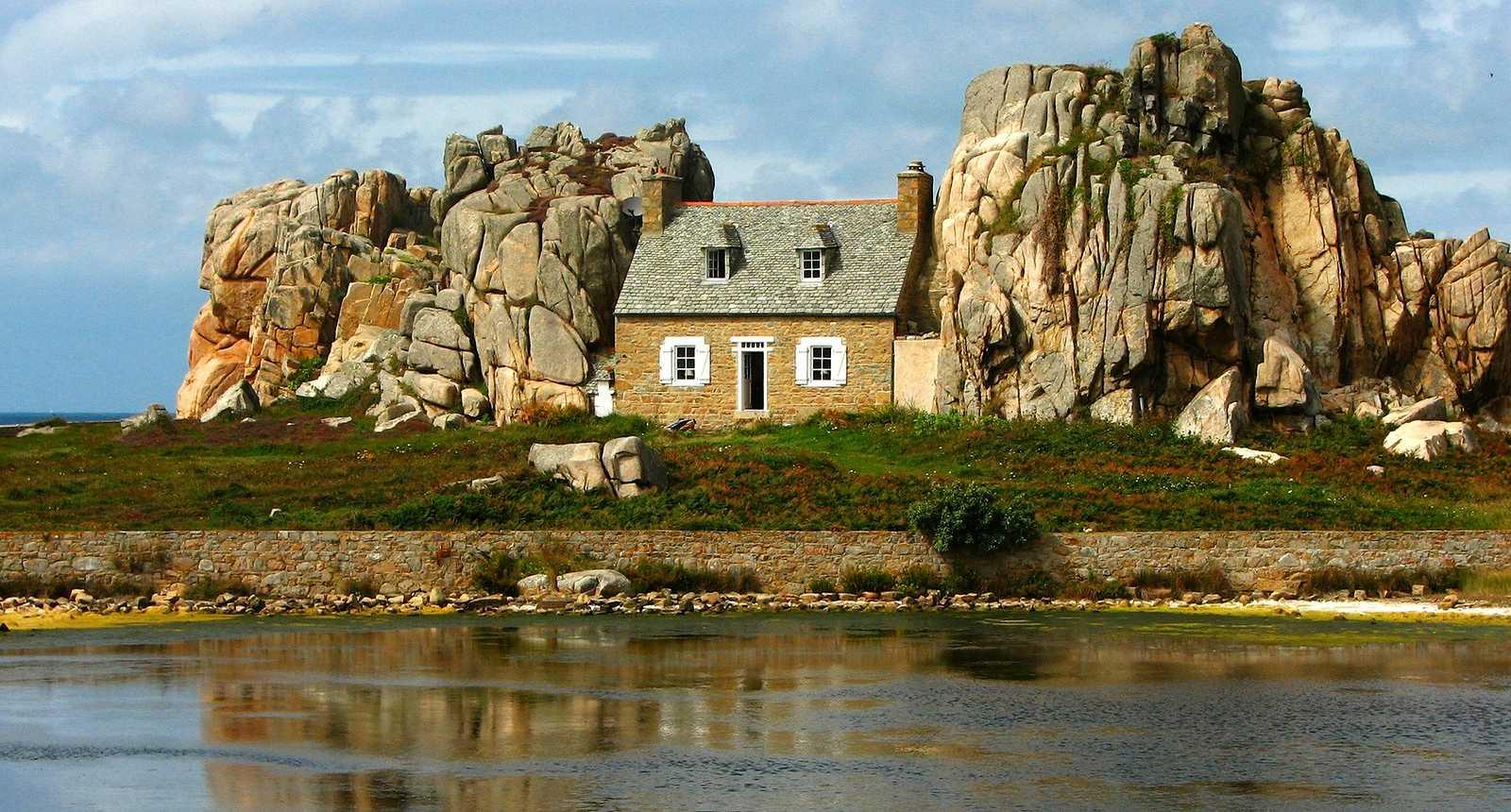 Image : Gouffre de Castel Meur, Pointe du Château