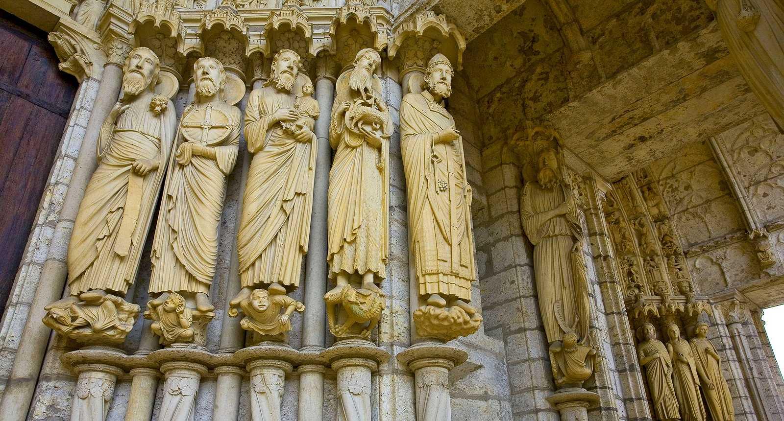 Portail nord de la Cathédrale Notre-Dame de Chartres