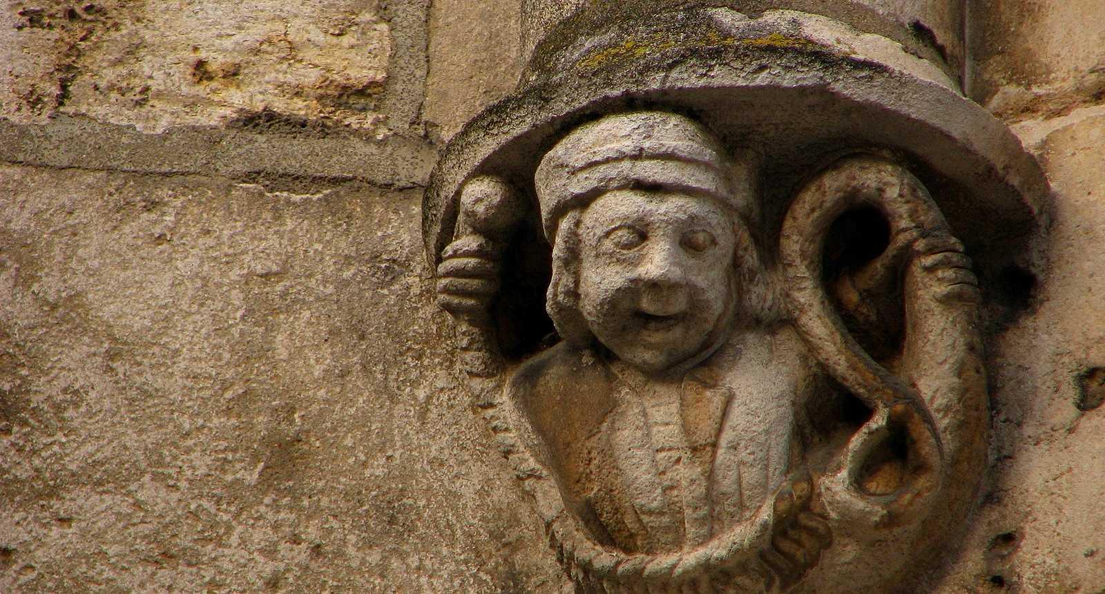 Gargouille de l'église Saint-Martial de Châteauroux