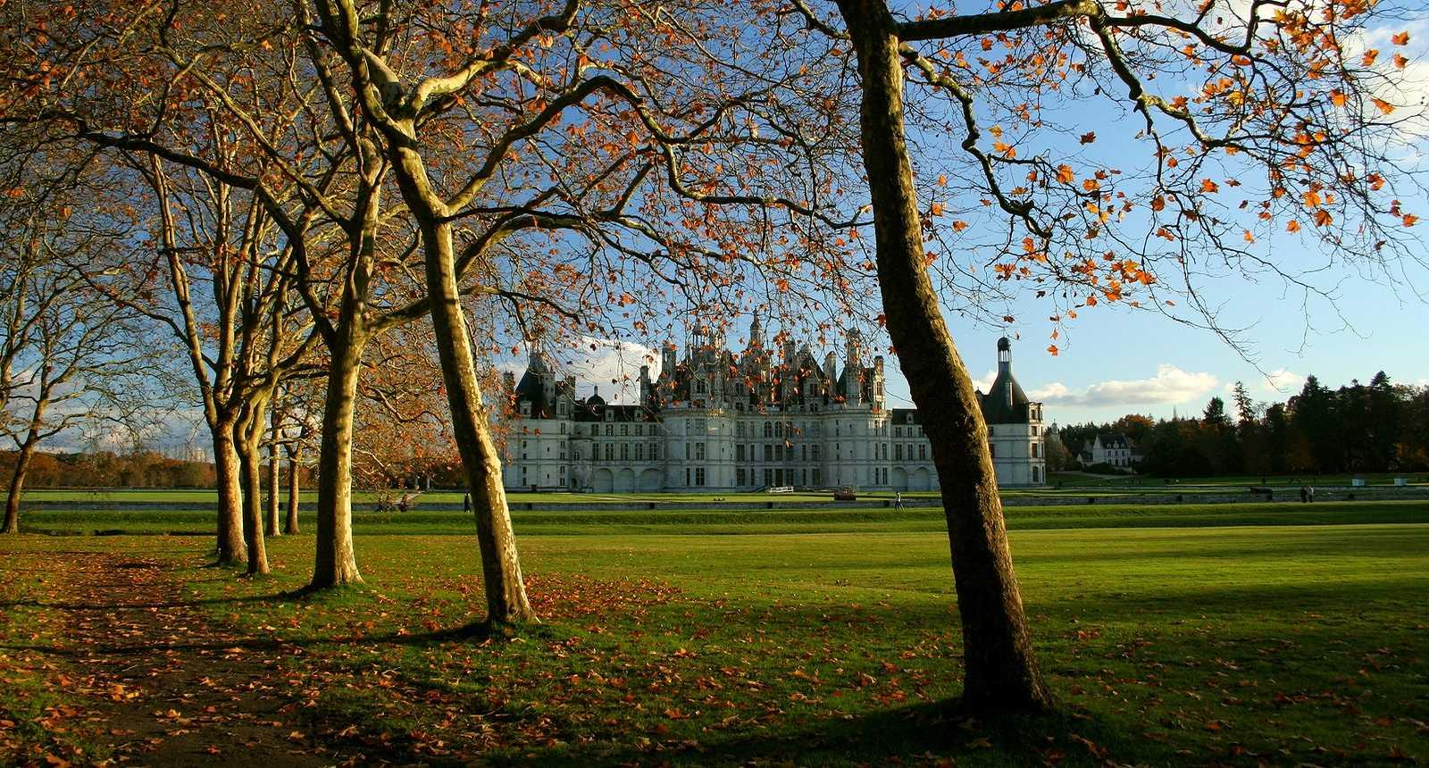 Le Domaine de Chambord en automne