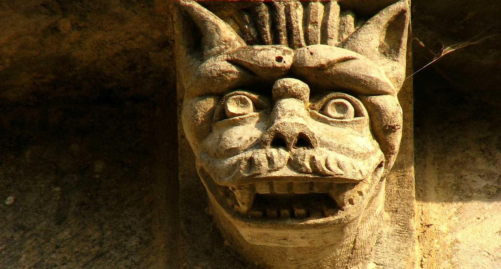 Gargouille de l'église Notre-Dame de Gargilesse