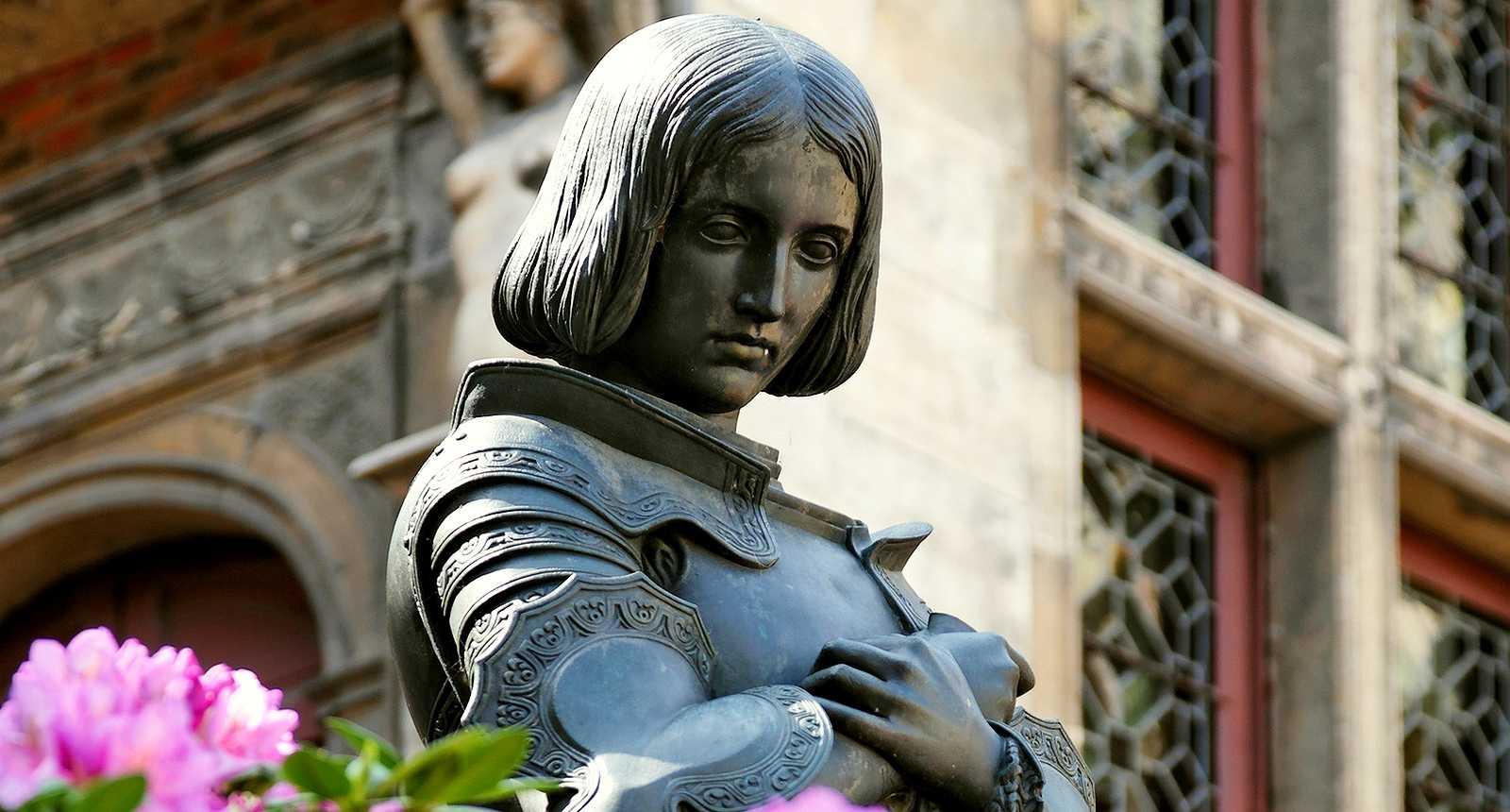 La statue de Jeanne d'Arc à Orléans
