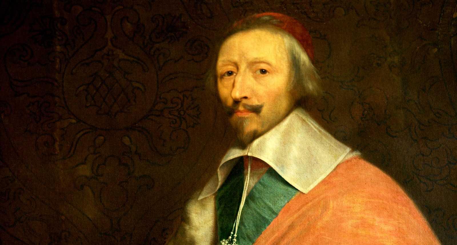 Le Cardinal de Richelieu au Château de Versailles