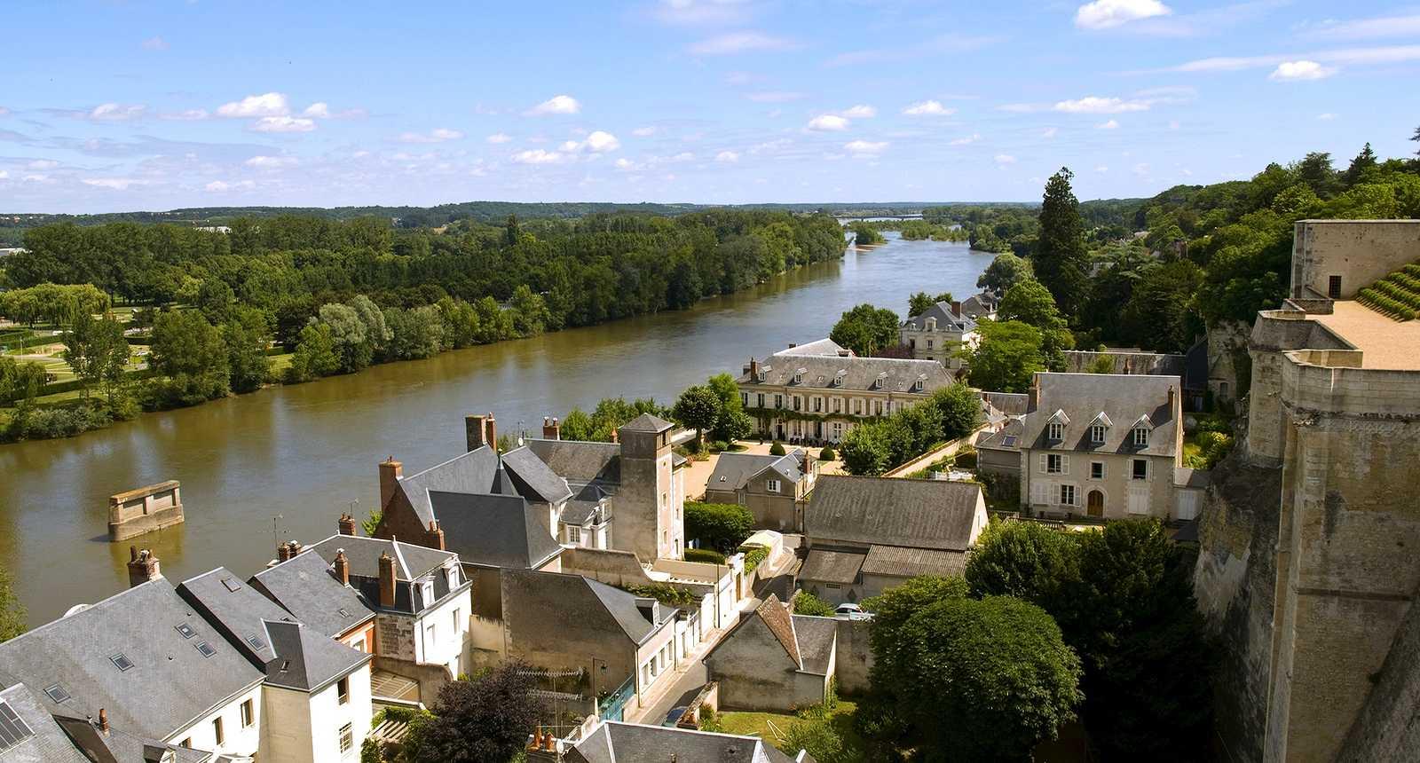 La Loire vue depuis le Château Royal d'Amboise