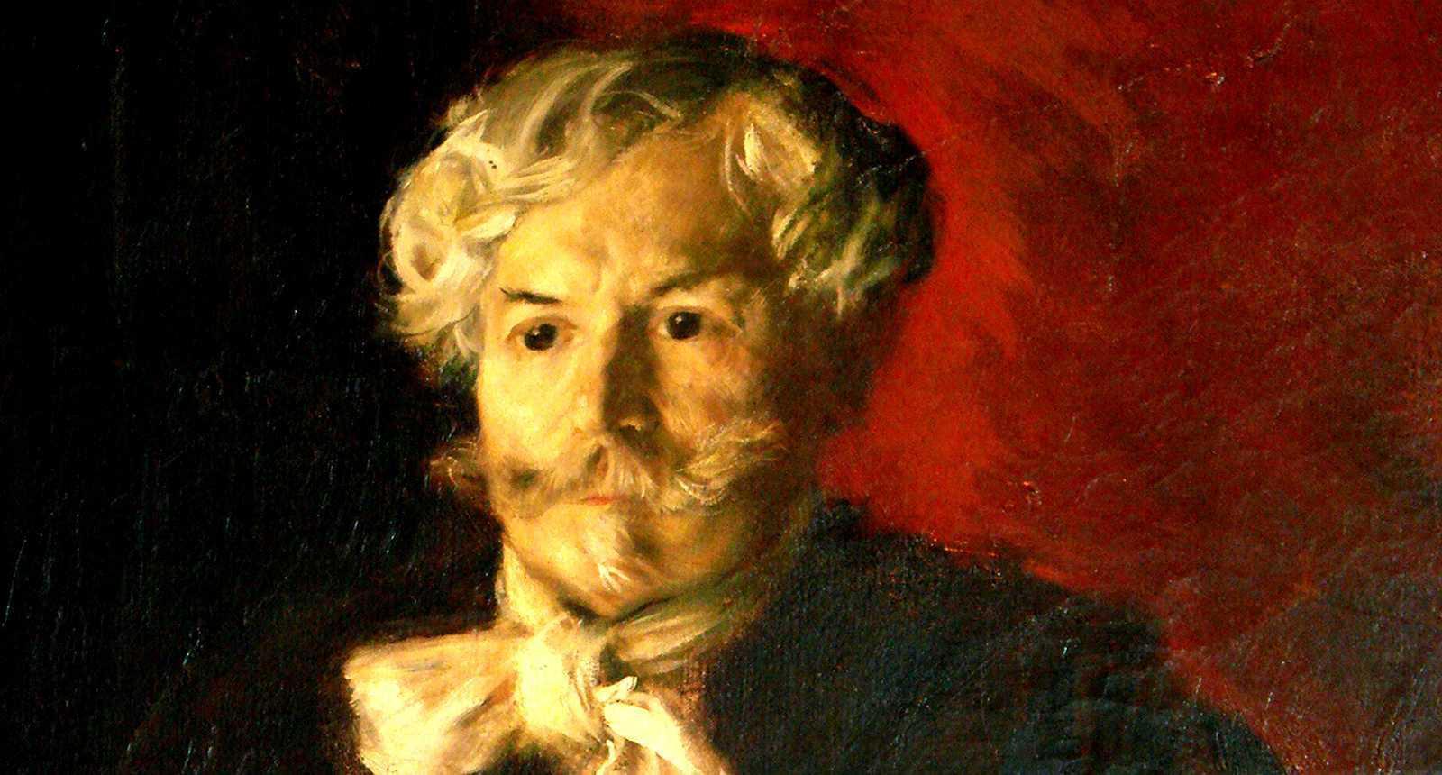 Portrait d'Edmond de Goncourt par Raffaëlli, Musée des Beaux-Arts de Nancy