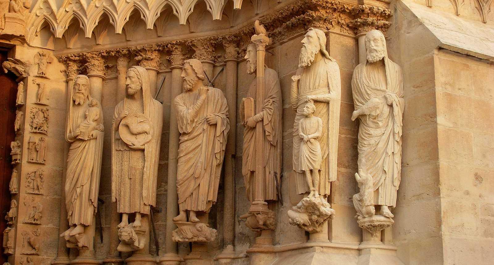 Les Christophores de la Cathédrale Notre-Dame de Reims