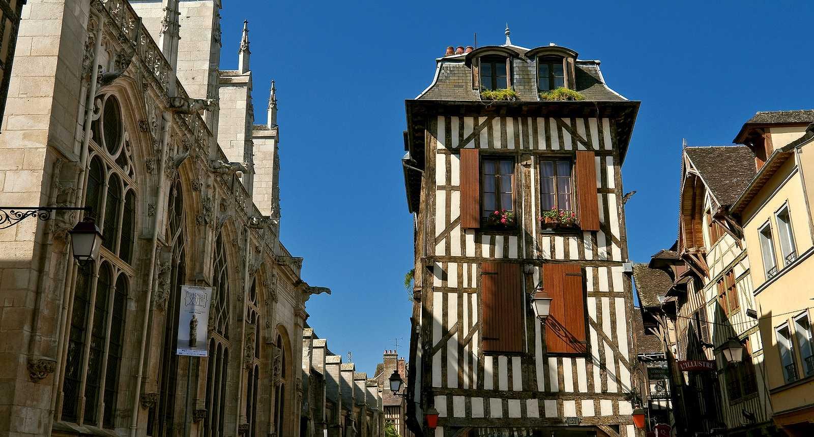 La ville médiévale de Troyes