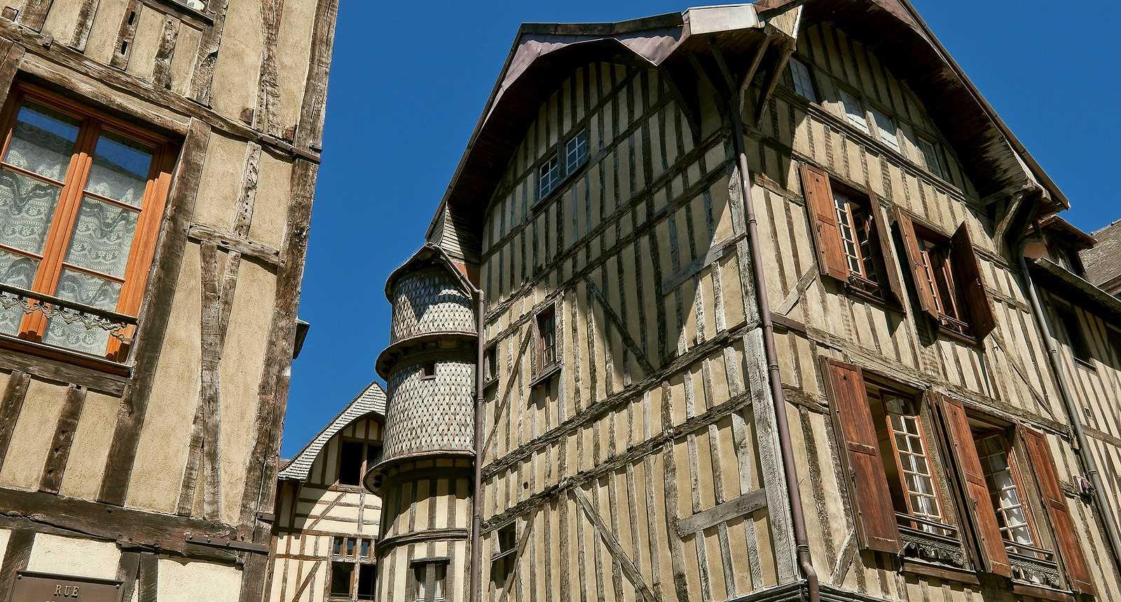Troyes, la vieille ville