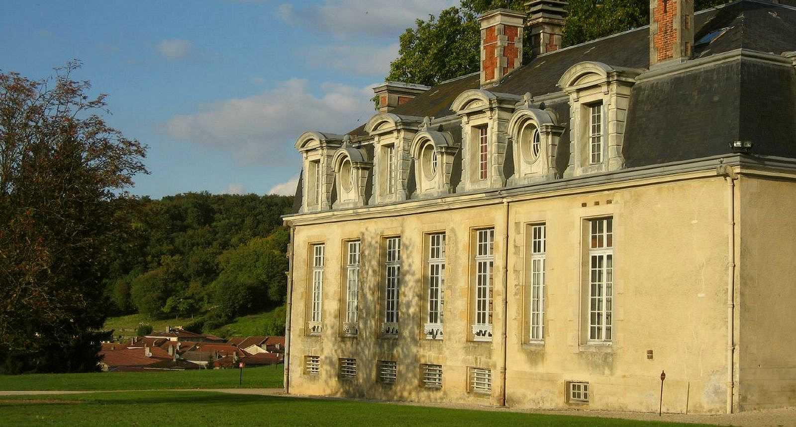 Le Château de Cirey à Cirey-sur-Blaise