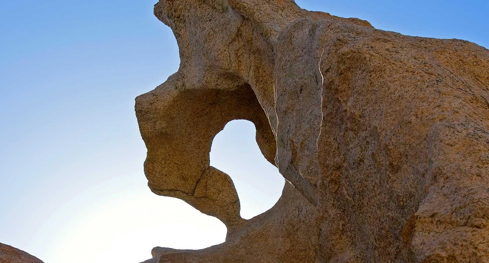 Les Rochers de la Pointe de Campomoro, dans le Golfe de Valinco