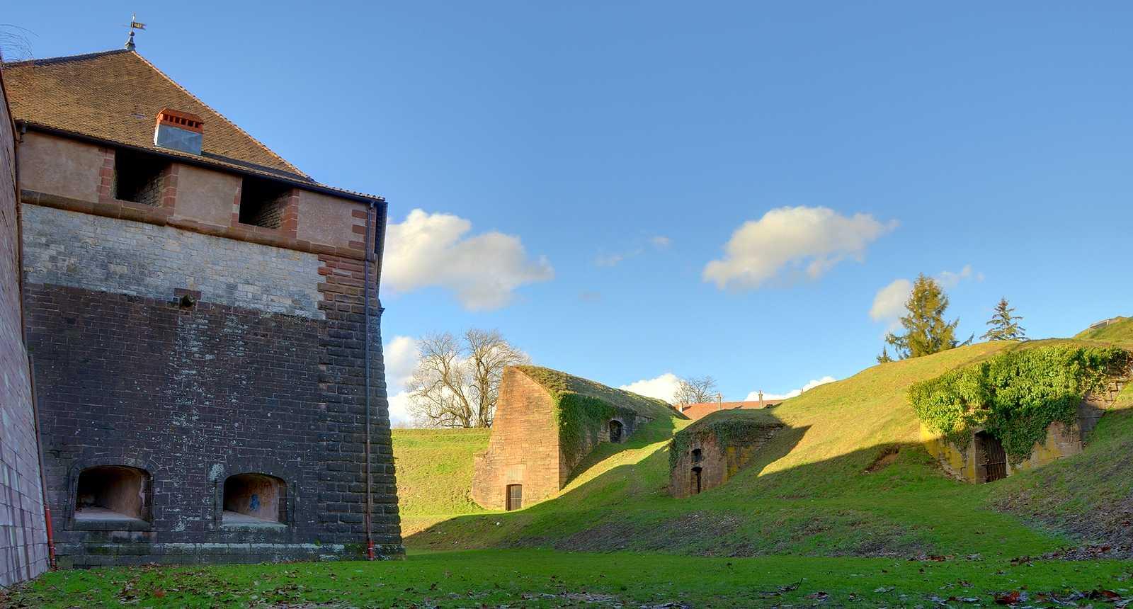 Les Fortifications de la Citadelle de Belfort
