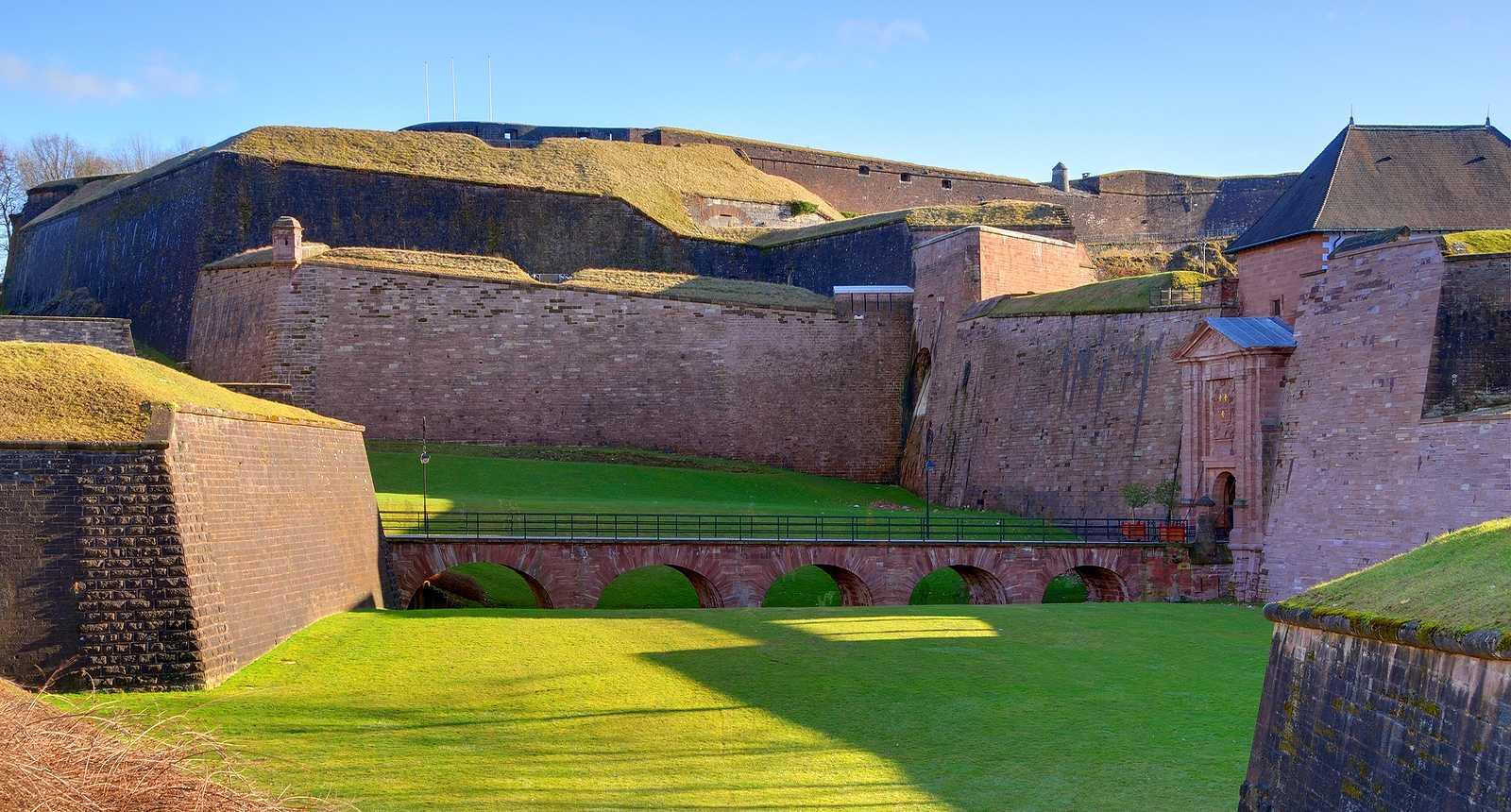 Les Fortifications de la Citadelle de Belfort (1)