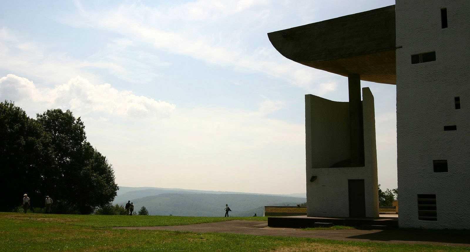 La Chapelle Notre-Dame-du-Haut par Le Corbusier, à Ronchamp