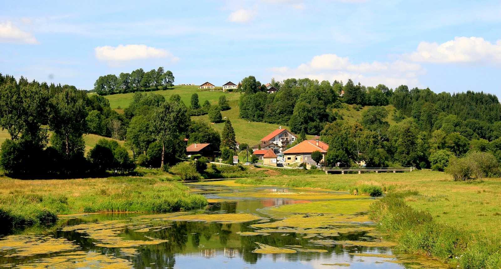 Le Doubs entre Pontarlier et Morteau
