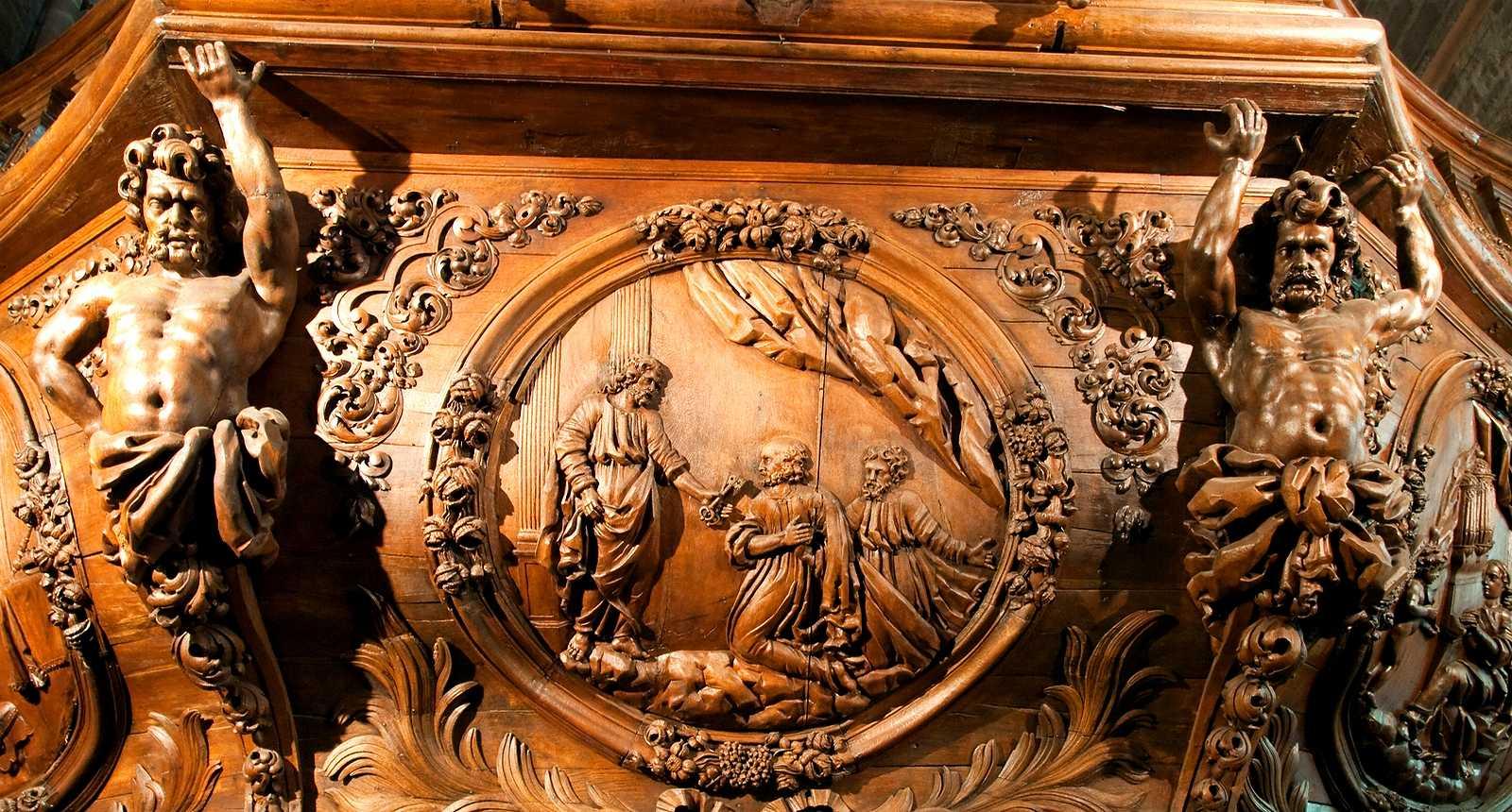 La Basilique Saint-Pierre de Luxeuil-les-Bains