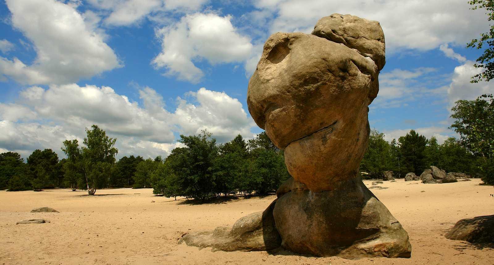 Le Bilboquet du Diable dans la Forêt de Fontainebleau